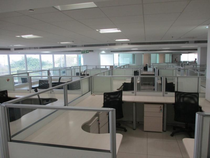 rent office space in rustomjee